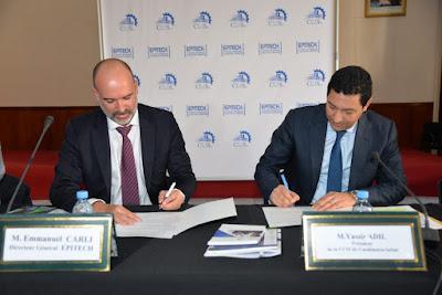 La chambre de Commerce, d'Industrie et de Services de Casablanca-Settat (CCIS-CS) signe un partenariat avec Epitech