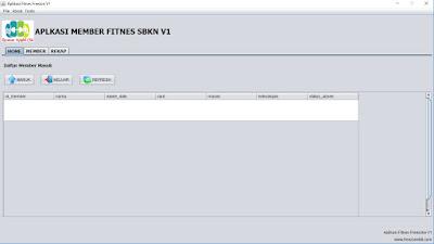 Aplikasi Member Fitnes Freezone V1
