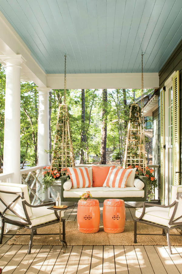 Haint Blue and why Southerners paint their porch ceilings with it