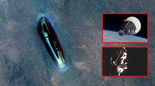 Imagen de OVNI de la misión Gemini IV finalmente visible