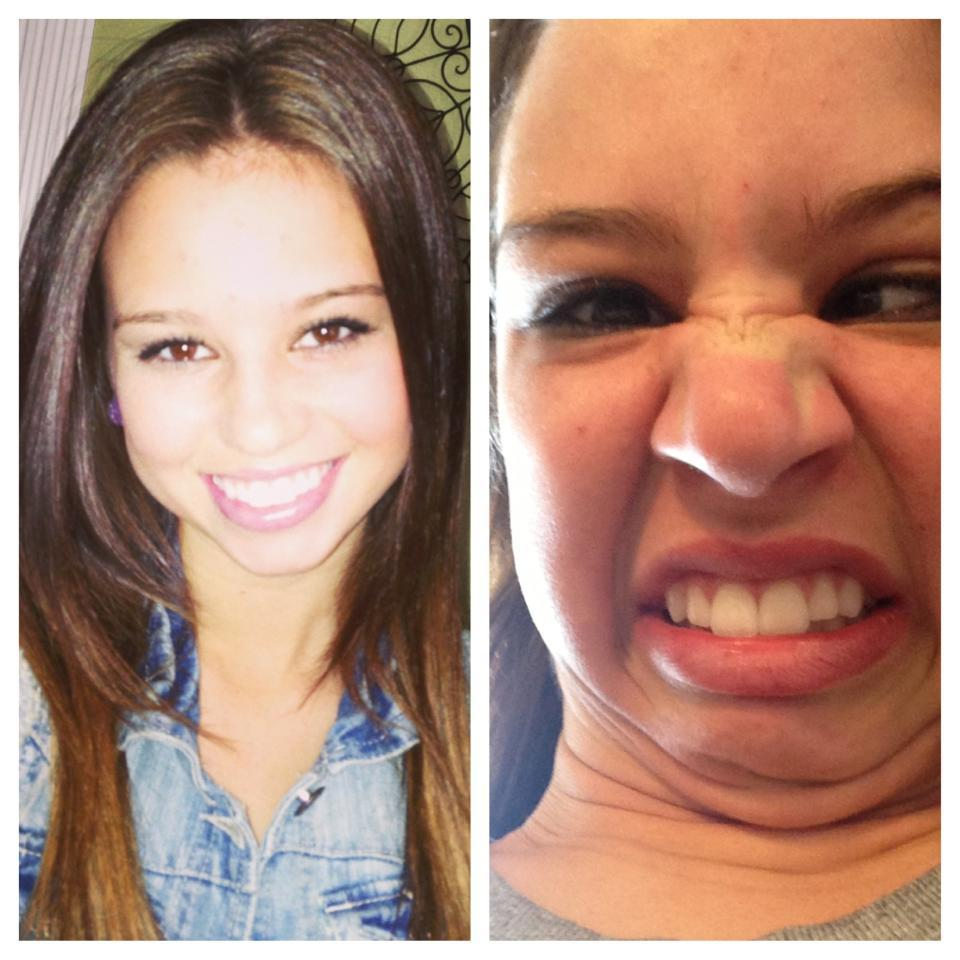 Pretty girls pulling ugly faces - Ugly face wallpaper ...