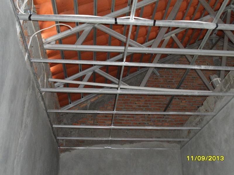 rangka plafon baja ringan minimalis 28 ide pasang hollow
