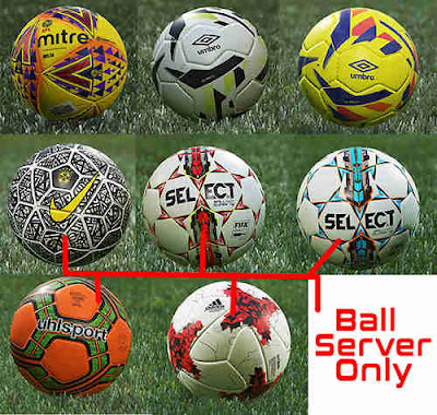 PES 2019 Ballpack vol 6 [ CPK, Sider & Ball-Server Version ] by Hawke