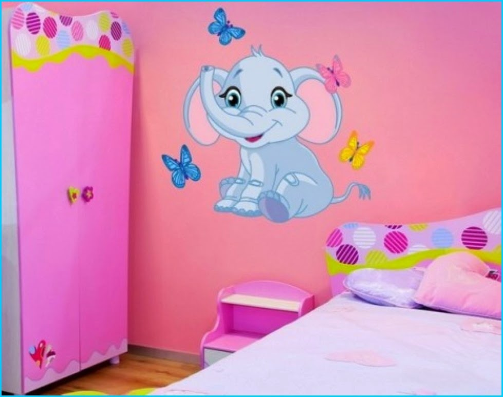 Awesome Home Designs Ideas Elephant Wall Decor For Kids Bedroom