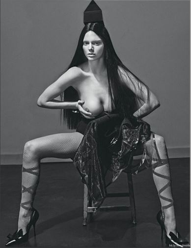 raunchy photo of kendall jenner