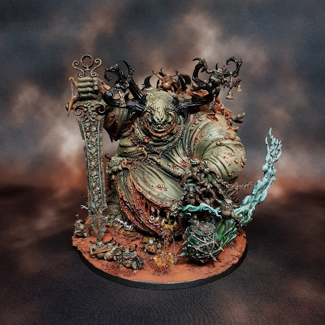 Nurgle Great Unclean One Conversion