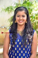 Tamil Actress Amritha Pos in Blue Long Dress at Padaiveeran Tamil Movie Audio Launch  0003.jpg