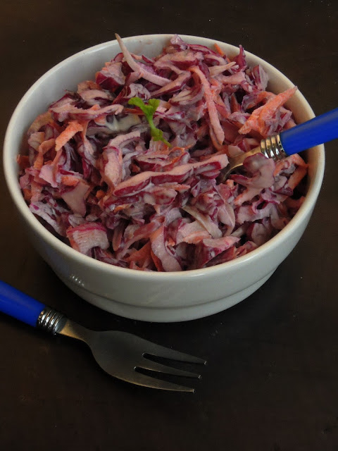 CabbageColeslaw, Coleslaw with Red Cabbage
