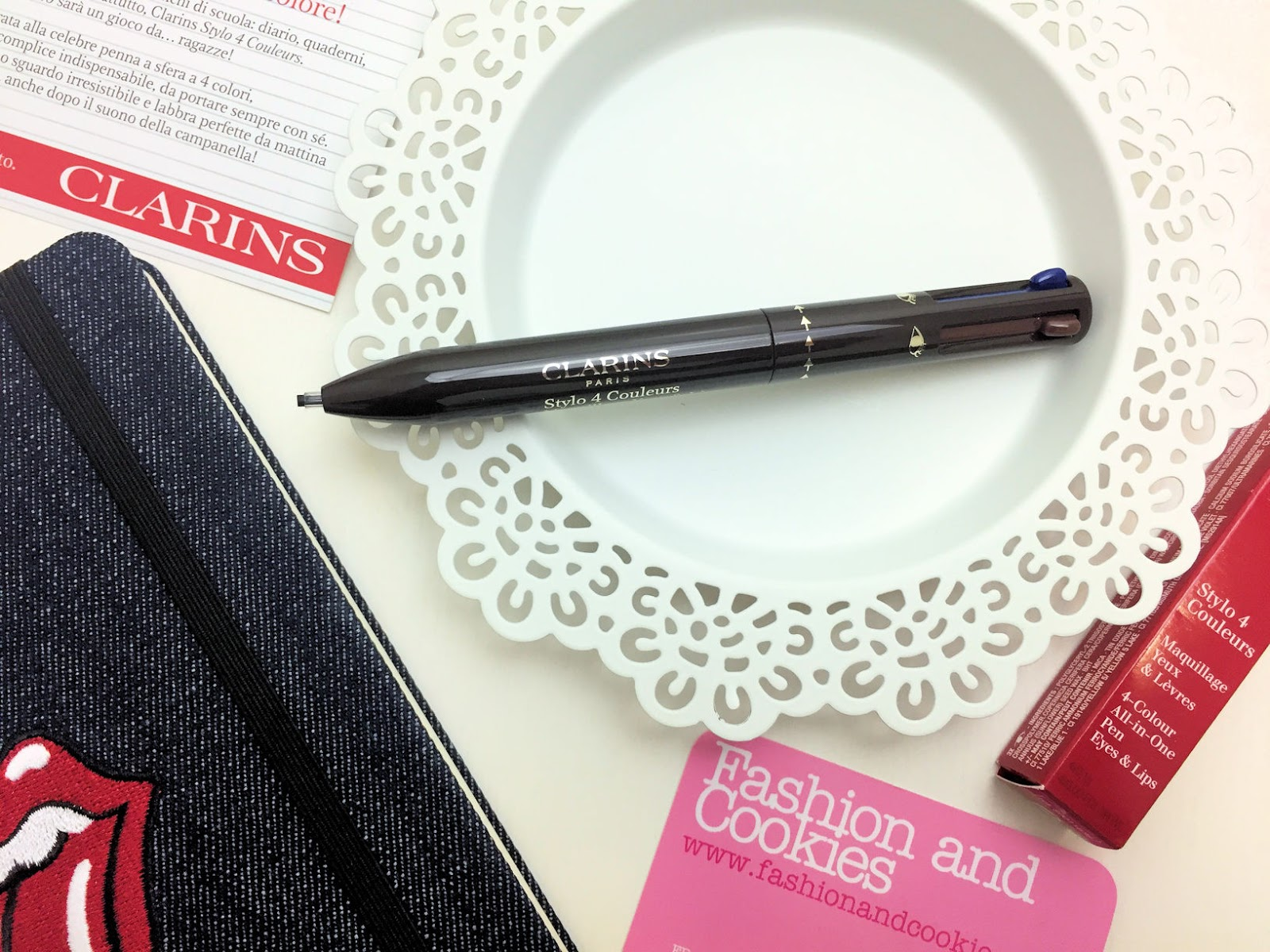 Clarins Stylo 4 Couleurs: penna makeup occhi labbra a 4 colori su Fashion and Cookies beauty blog, beauty blogger