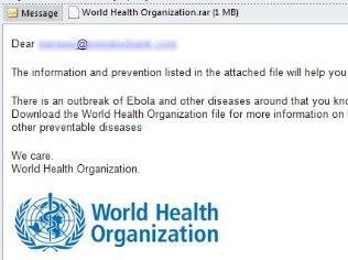 Vírus DarkKomet é espalhado em e-mails sobre o ebola