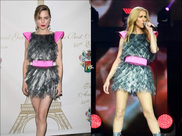 👗Melissa George vs Celine Dion