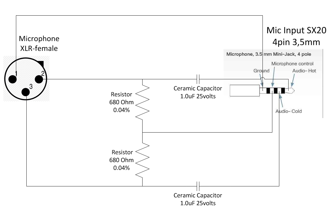 shure 444 microphone wiring diagram microphone connection diagram