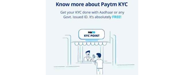 paytm kyc center near me