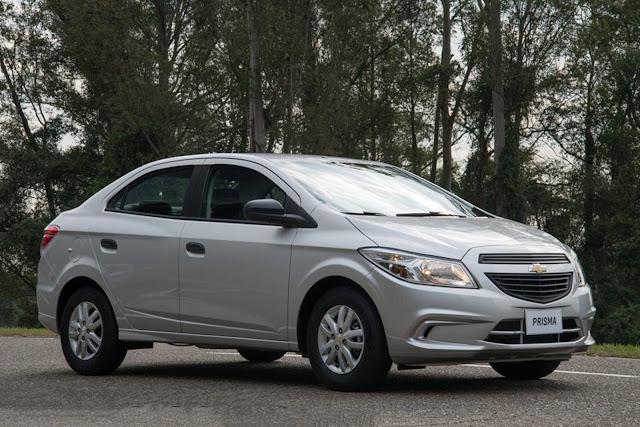 Chevrolet Cruze Sedan, Onix e Prisma - aumentos de preço