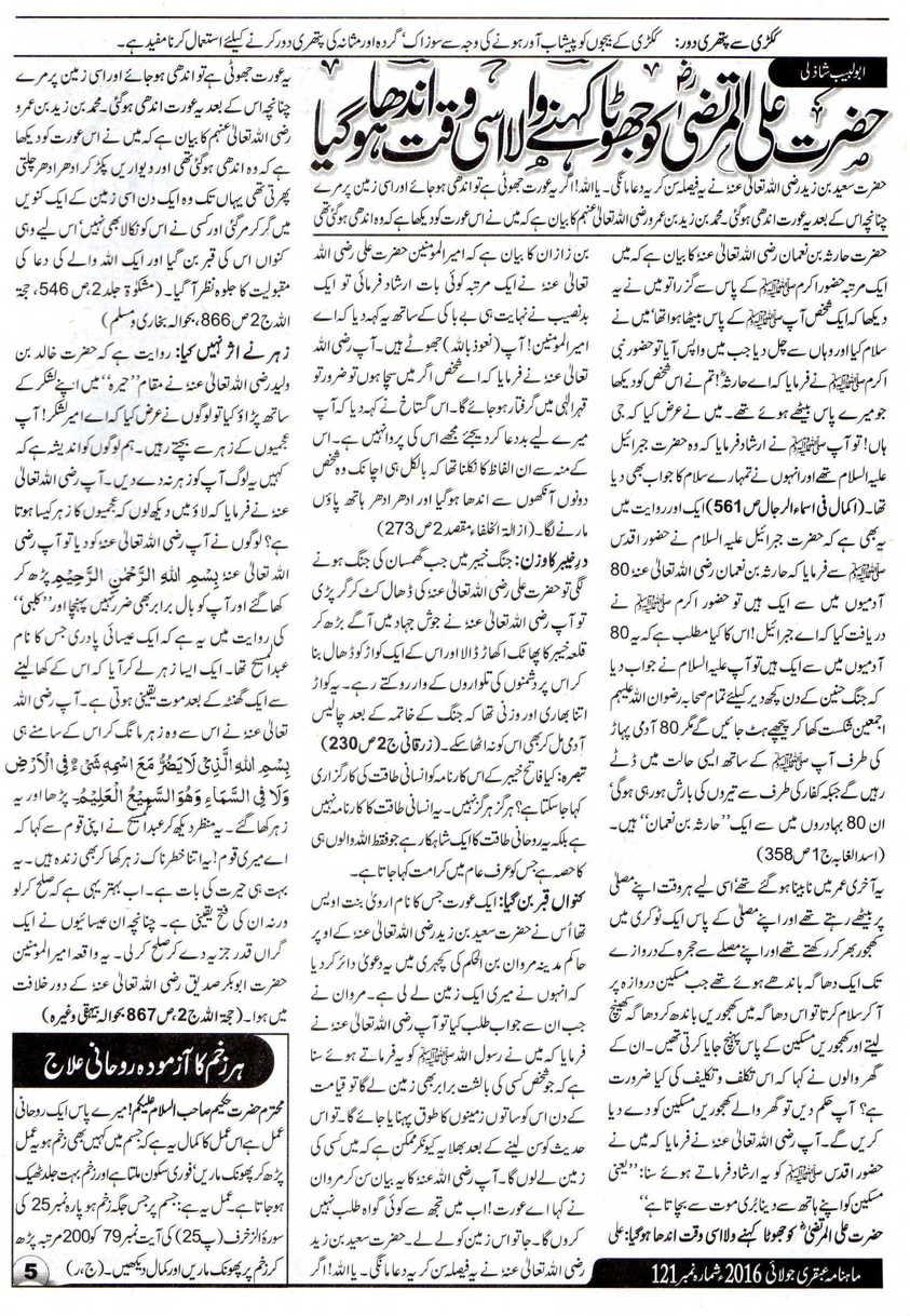 Hazrat Ali Sachi Dastan