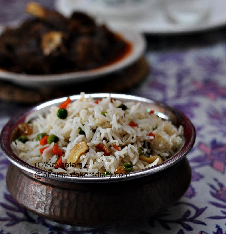 Bengali Style Fried Rice A Homemaker S Diary