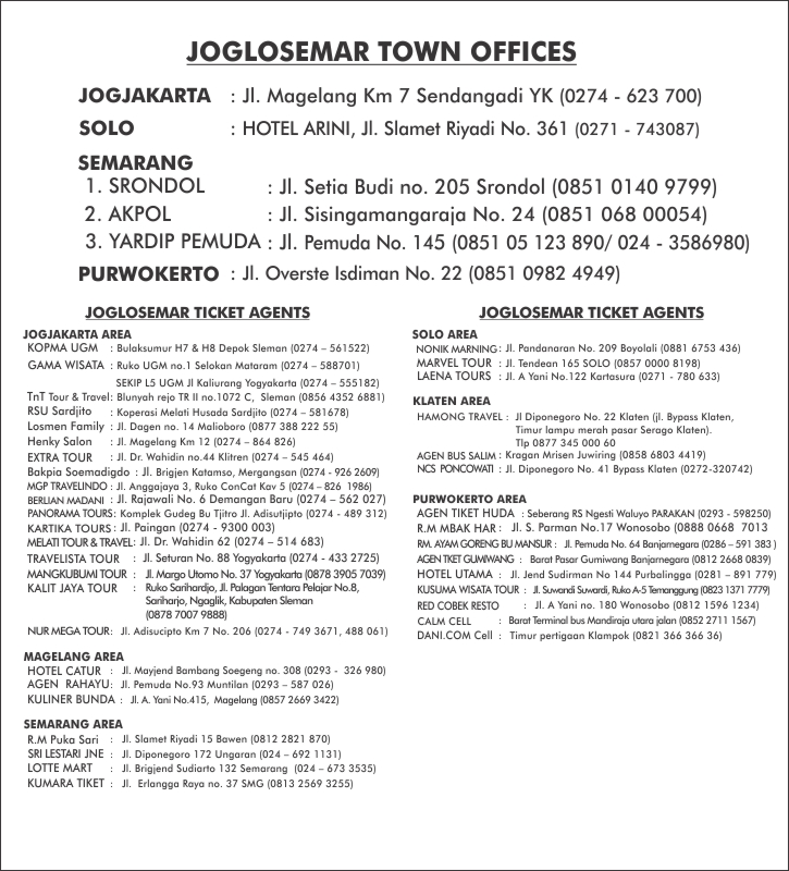 TOWN OFFICE & AGENTS