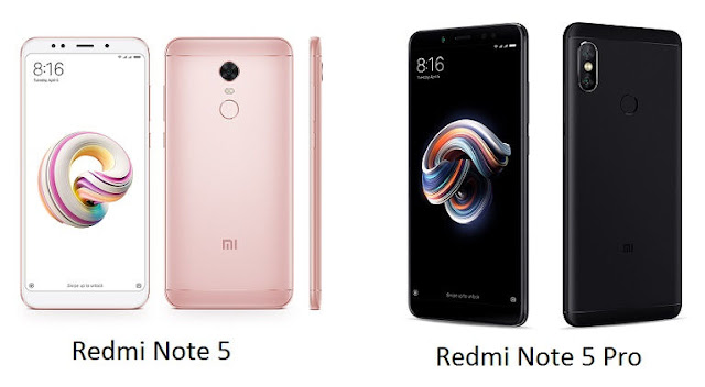 Redmi Note 5 and Note 5 Pro Price