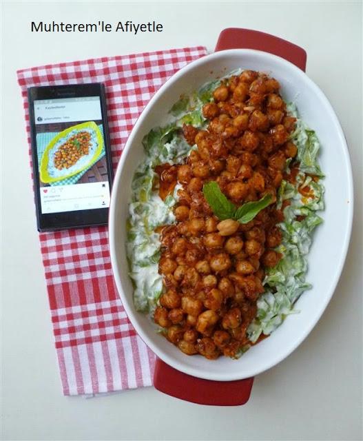 nohutlu semizotu salatası nasıl yapılır?