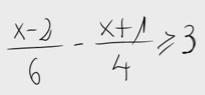 15.Inecuación de primer grado(fracciones) 2