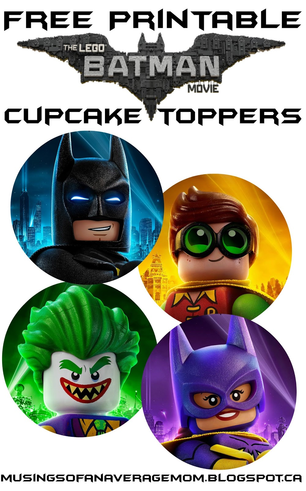 how to make lego batman characters