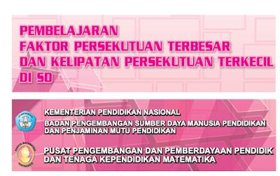 Trik Pembelajaran FPB dan KPK untuk SD