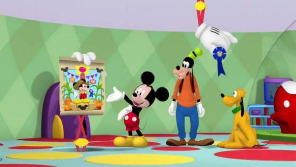 Just come on down to Mickey's Farm Fun Fair