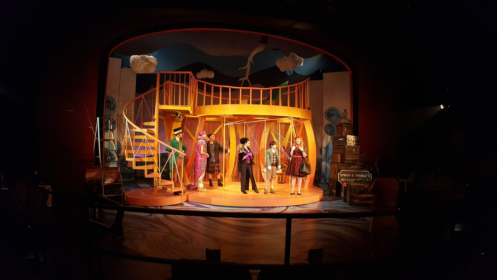 Art And Scenic Design James And The Giant Peach