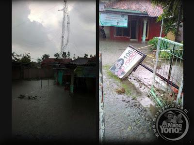 Puting beliung terjang Pamanukan Subang Jawa Barat
