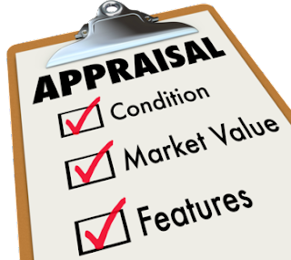 Appraisal Process clip board