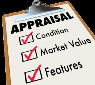 Appraisal Process clip board