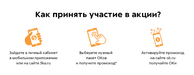 Акция Пятерочка баллы Оки Одноклассники