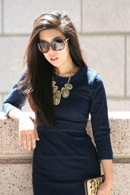 Adrienne Nguyen_how to wear denim to work