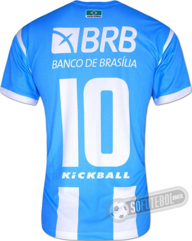 56dc42a08b Kickball lança a nova camisa titular do Luziânia. A fabricante de material  esportivo Kickball divulgou ...