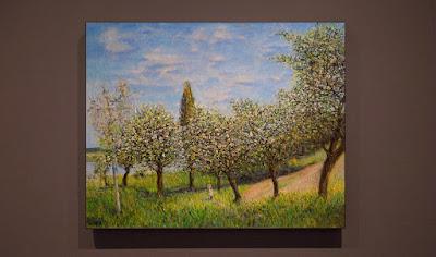 apple flowers painting