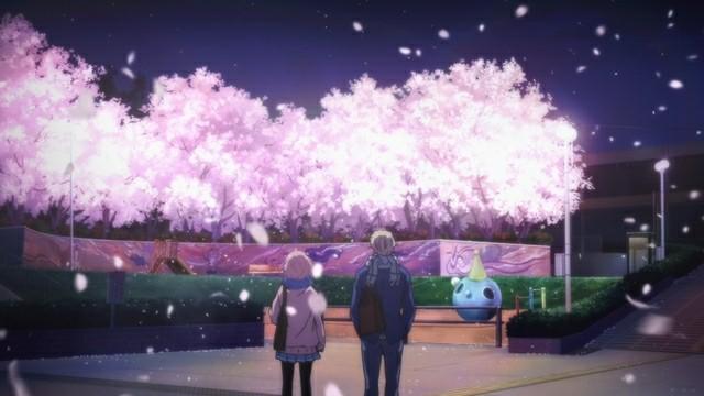 Kyoukai No Kanata Mirai Hen Cherry Blossom
