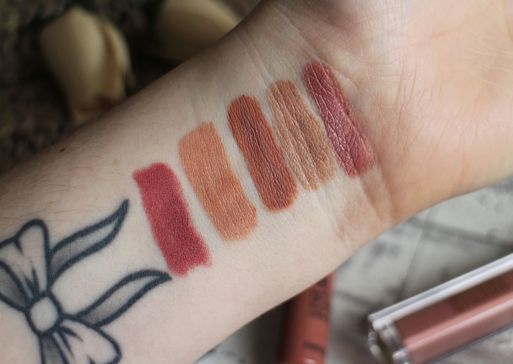 My Most Worn Nude Lip Products