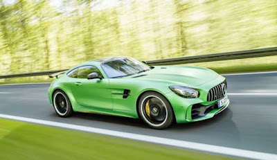 2018 Mercedes-Benz unveiled AMG GT R sports car