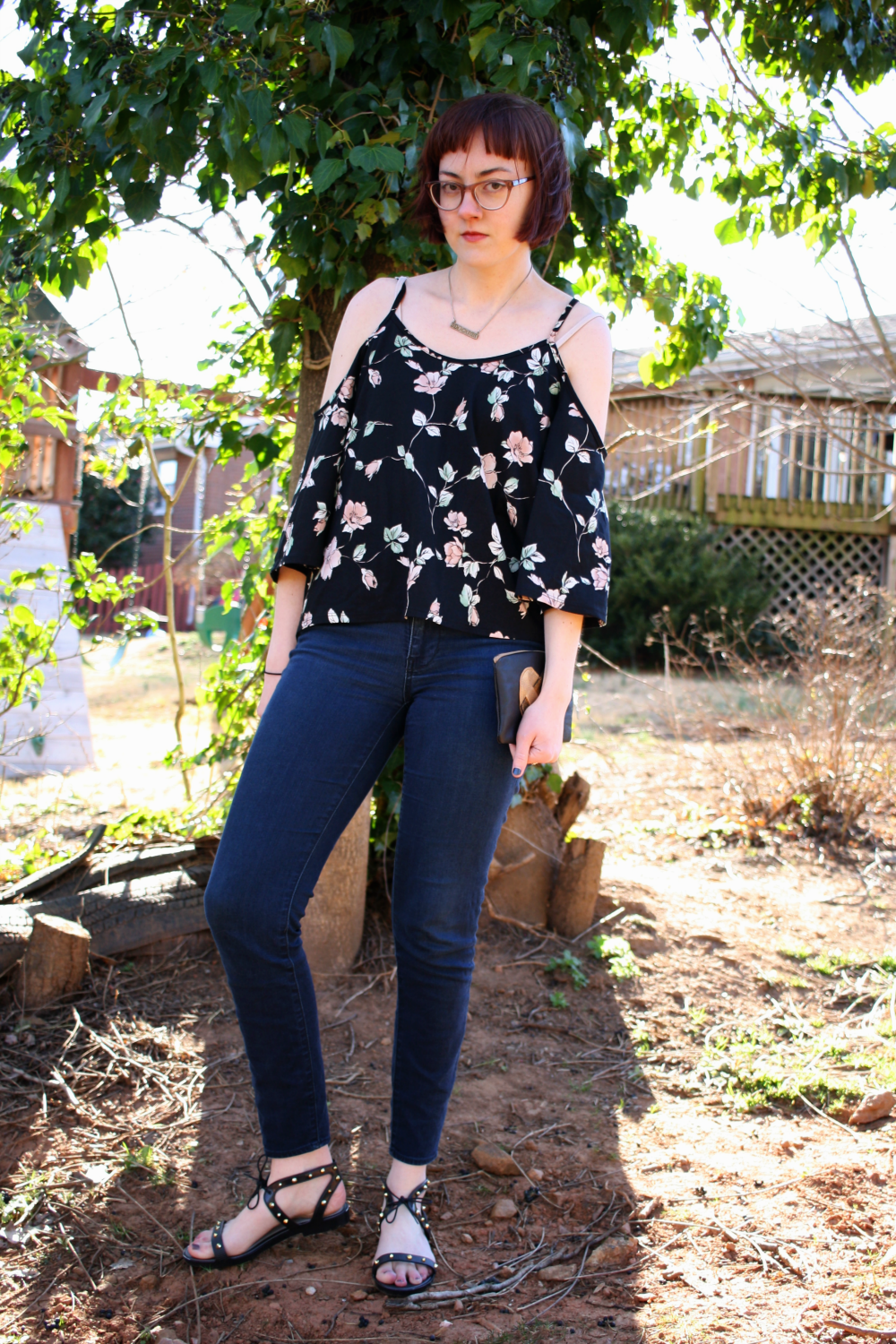 Ember Boutique Ethical and Sustainable Cold Shoulder Top