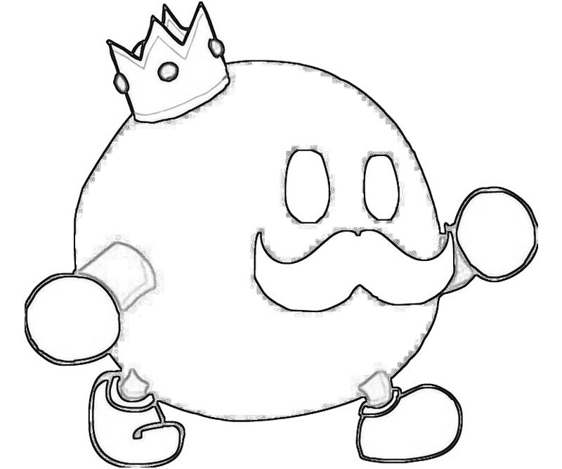 King Bob Omb Cool Coloring Pages