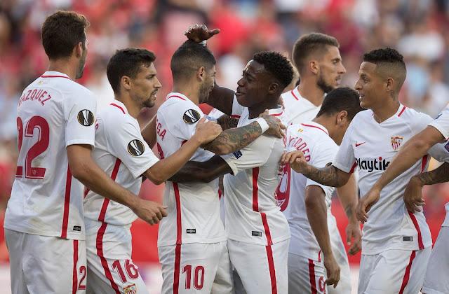 Crónica Sevilla FC 5 - Standard Lieja 1