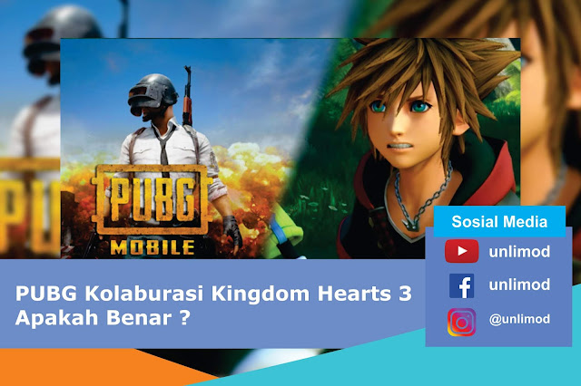 PUBG Kolaburasi Kingdom Hearts 3