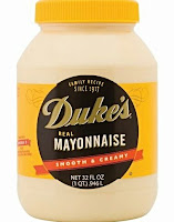 Jar of Duke's brand Mayonnaise sold in the South and Eastern states