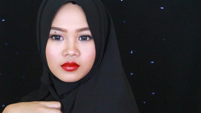 wardah intense matte lipstick vibrant red