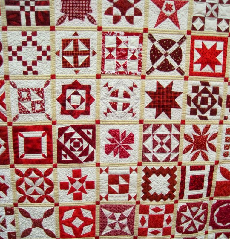 A Sentimental Quilter Quilt Fest Chicago Red White