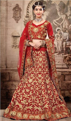Indian lehenga style sarees for grils
