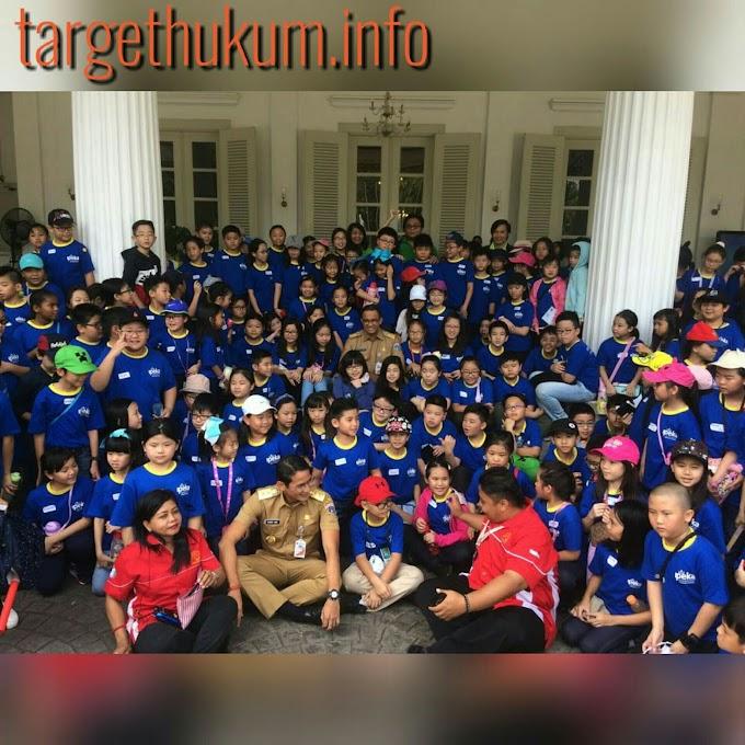 Kunjungan Sekolah IPEKA Integrated Christian School ke Balai Kota Jakarta
