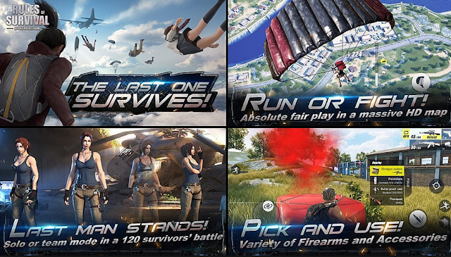 Rules of Survival Game Review