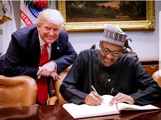 Donald Trump and Buhari