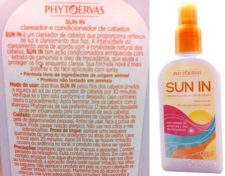 Clareador Sun In Phytoervas